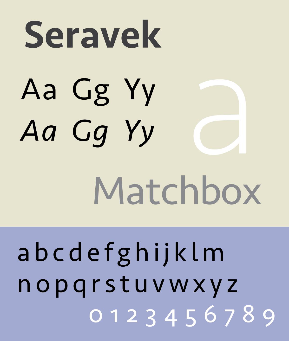 seravek font free