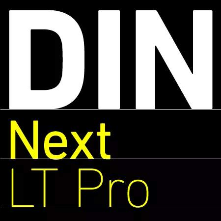 din next rounded lt pro free download